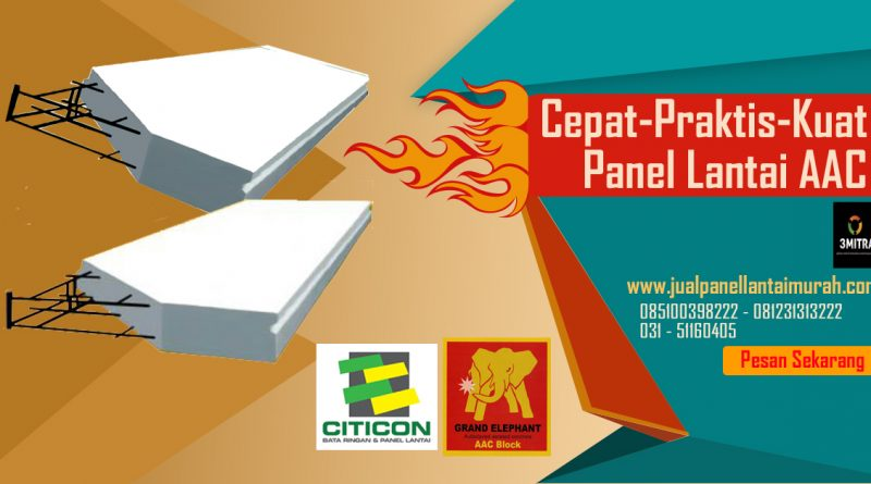 Jual Panel Lantai Citicon